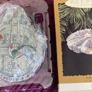 Star Wars, Millennium Falcon, NWT, 1996, Ornament